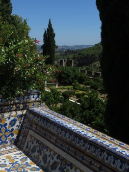 View from the Castle in Tomar
