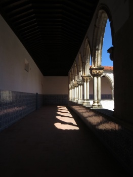 Cloisters in the Convent in Tomar