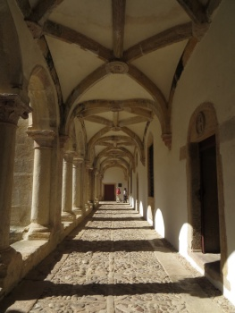 More cloisters in the Convent in Tomar