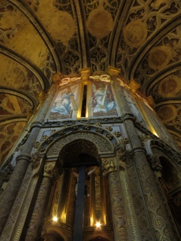 The Chapel in the Convent in Tomar