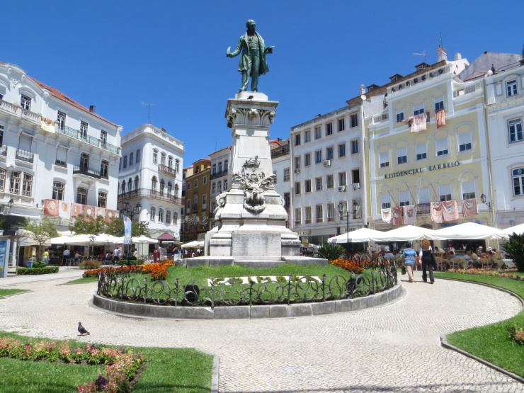 Praca in Coimbra where we had coffee
