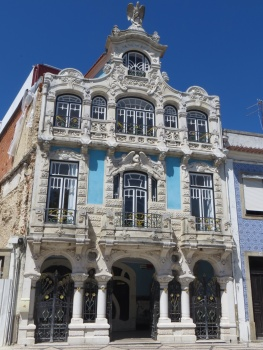 Ornate house in Aveiro