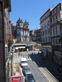 View from my balcony in Porto