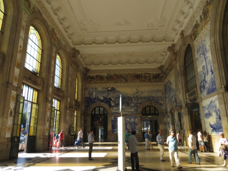 Sao Bento train station in Porto