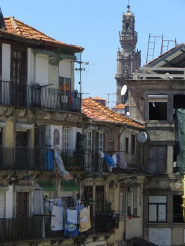 Typical view in Porto