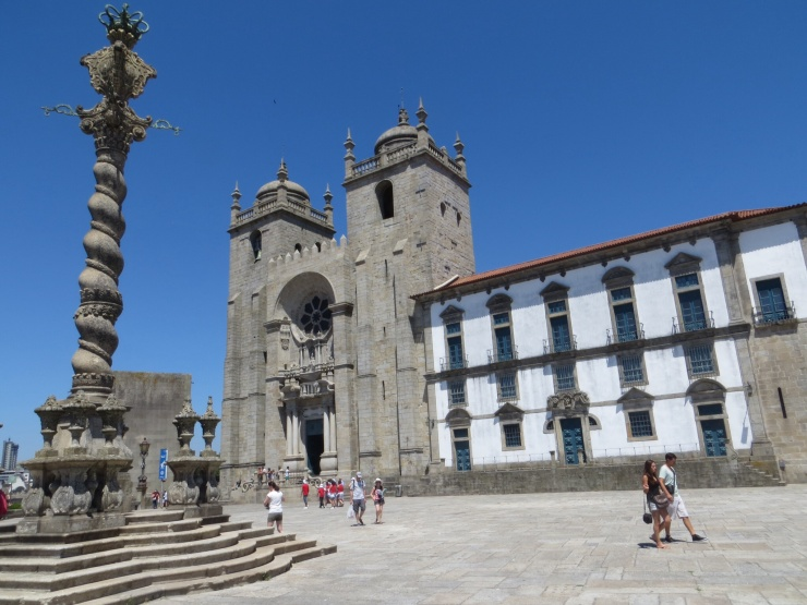 The Cathedral in Porto