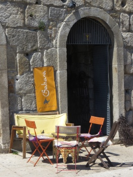 Cafe on Ribeira in Porto