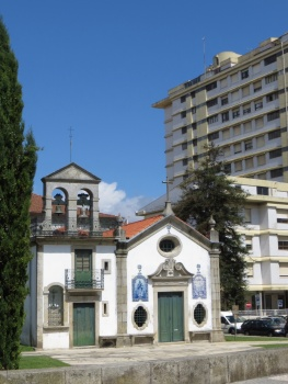 Blocks of flats typical of Portugal