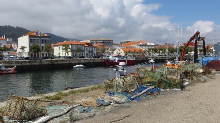 Fishing port at Viana do Castelo