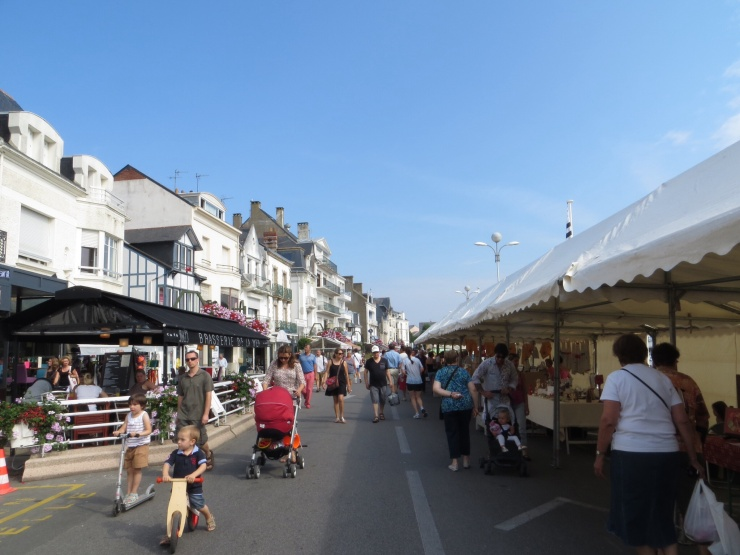 The Breton fair in Le Pouliguen