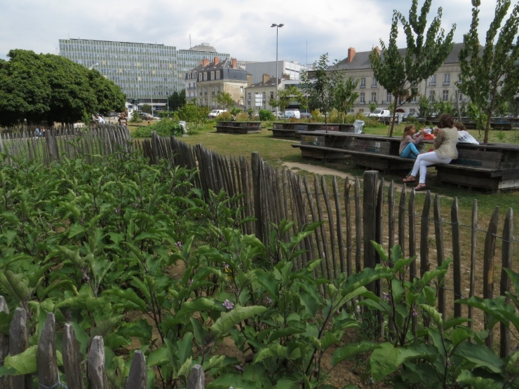Community garden in Nantes
