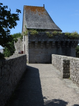 On the ramparts in Guerande