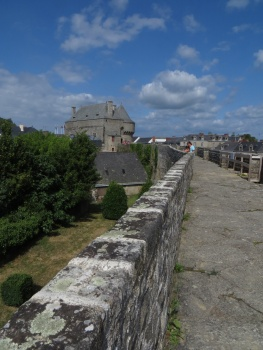 The ramparts in Guerande