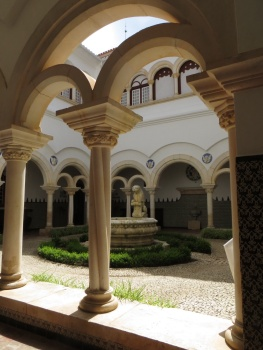 Cloisters of the Conde Castro Guimares Museum