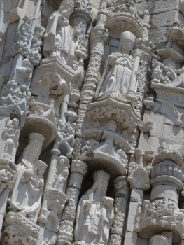 Carvings on exterior of Jeronimus Monastery