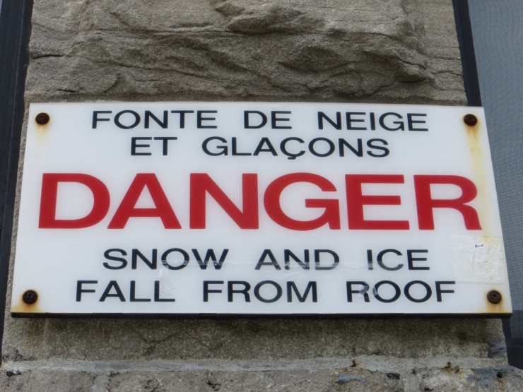 Don't see signs like this in NZ!