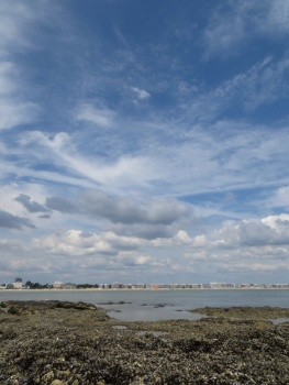 La Baule from the mussel rocks