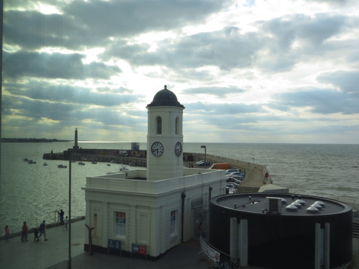 View of the old Customs House in Margate