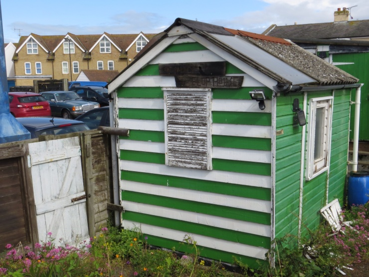Old beach hut at Whitstable