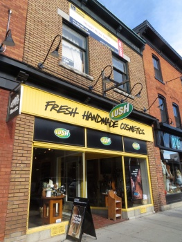 One of the shops in Byward Market