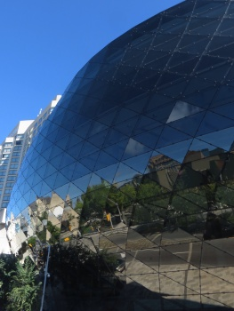 Reflections in the Rideau Centre