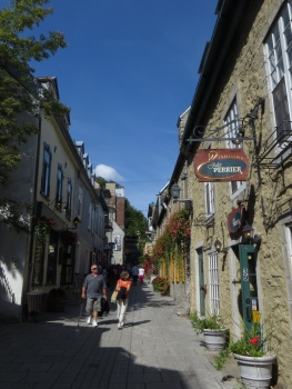 Street in Old Quebec