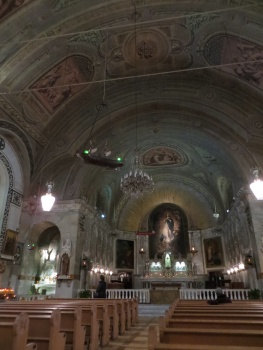 Inside the Church of Notre Dame de Bonsecours