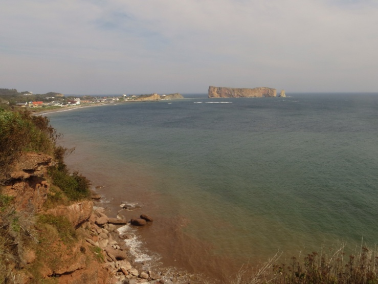 View of Perce and the Rock