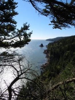 Squaws Cap in Fundy Bay