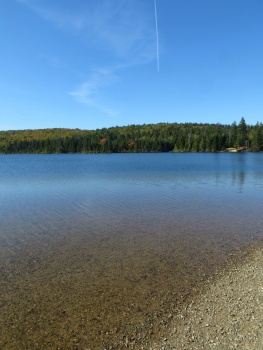 Quintessential Canada - lake in Fundy Park