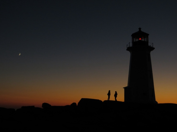 Sunset at Peggys Cove