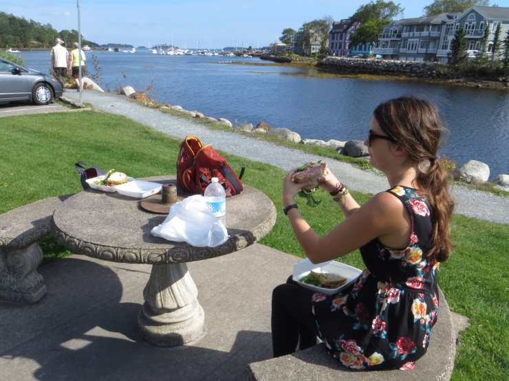 Lunch at Mahone Bay