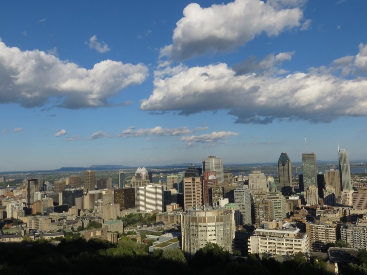 The City from Mont Royal