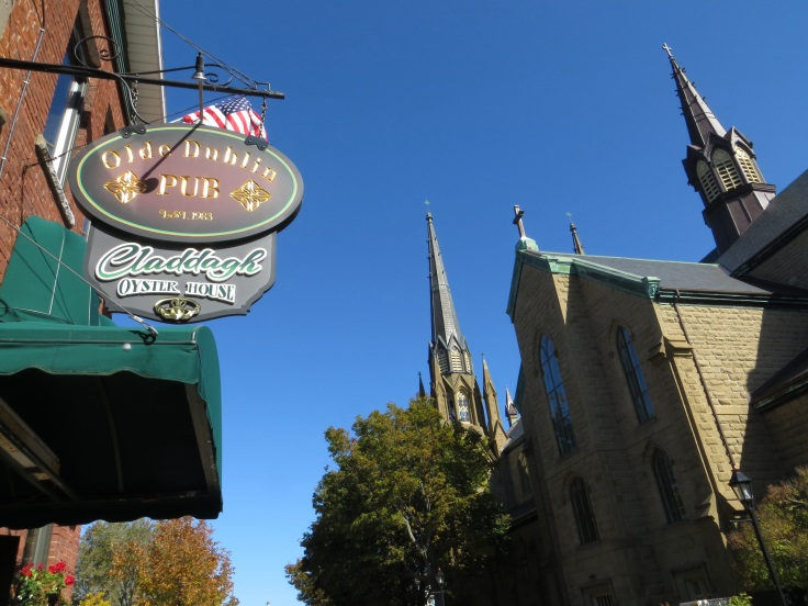 Pubs and churches in Charlottetown