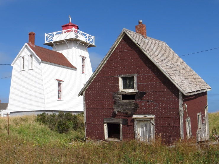 Lighthouse in North Rustico