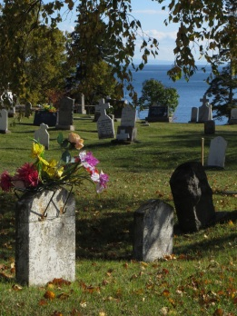 Cemetary in Tadoussac