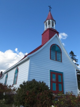 Oldest wooden chapel in Northern America