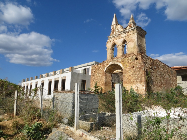 Ruined church in Trinidad