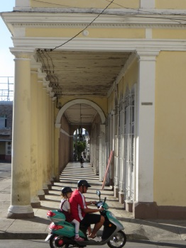 Verandahs are typical of the architecture