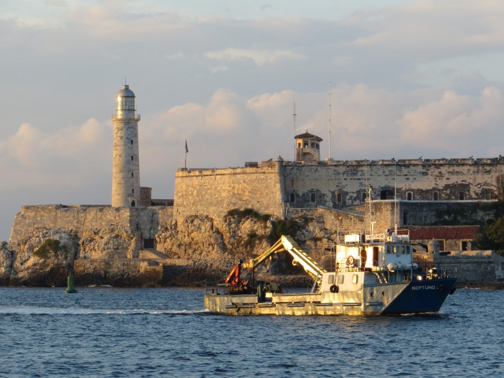 El Morro at the entrance to the harbour