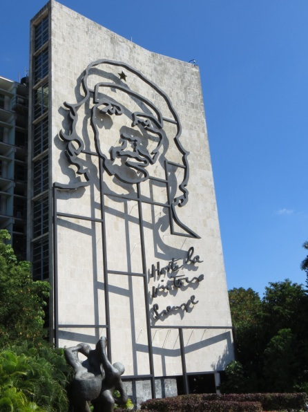 Che in Revolution Square