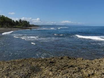 The coastline east of Baracoa
