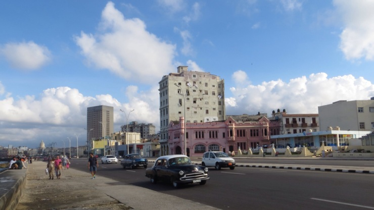 Along the Malecon