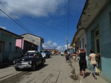 One of Baracoa's main streets