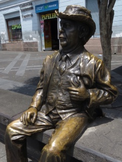 Statue in the Theatre Plaza
