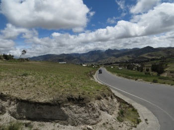 The road from Quilotoa