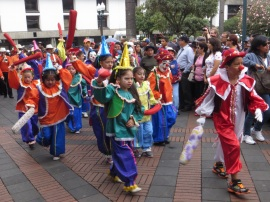 Children in the Procession