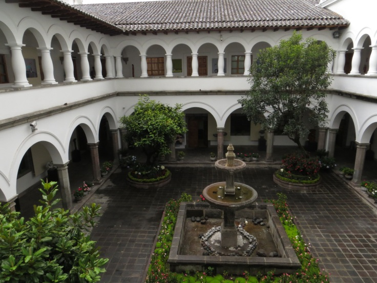Courtyard in the Palace