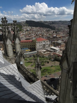 View from one of the Cathedral towers