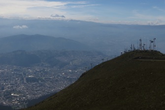 Andes, Quito and telecommunications!